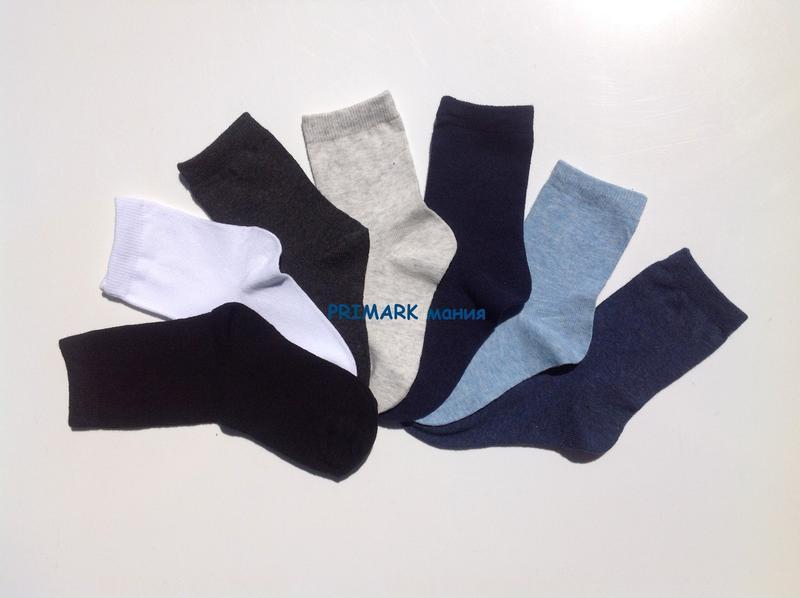 Носки для мальчика 7 шт primark