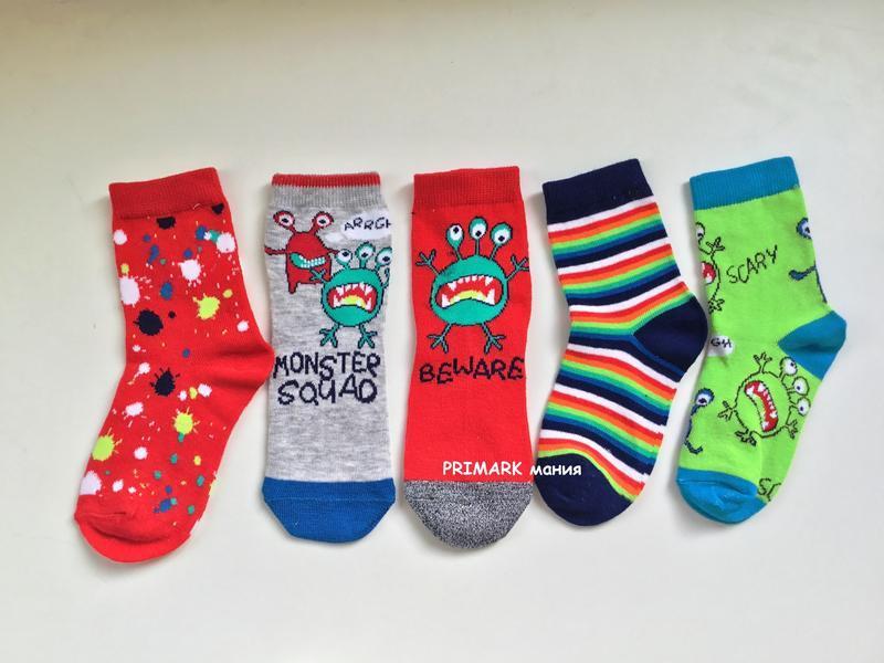 Носки для мальчика 5 пар primark