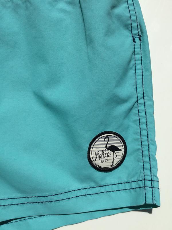 Мужские купальные шорты плавки primark - Фото 3