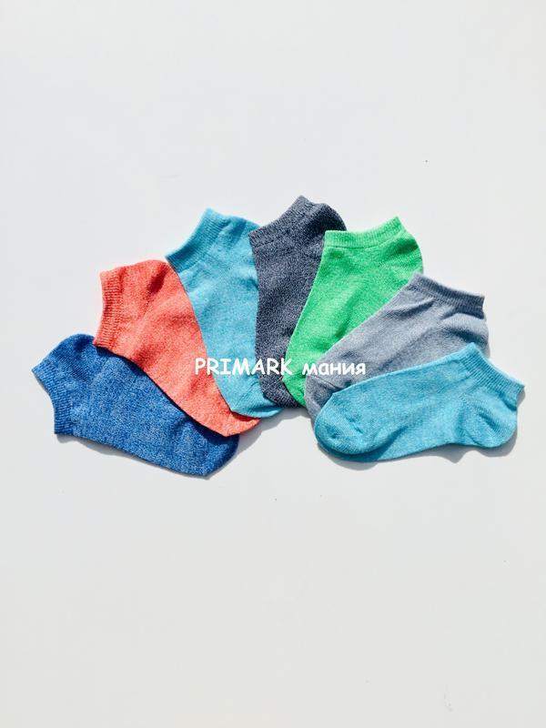 Детские низкие носки унисекс primark