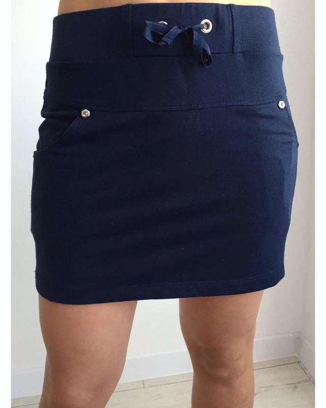 Спідниця, юбка, темно синяя юбка, мини юбка.