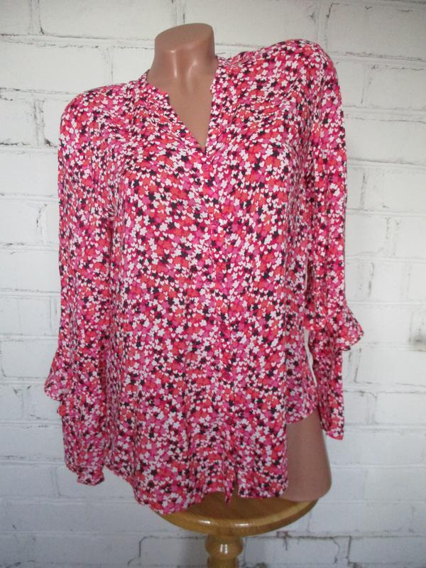 Рубашка/блуза в принт/m-l