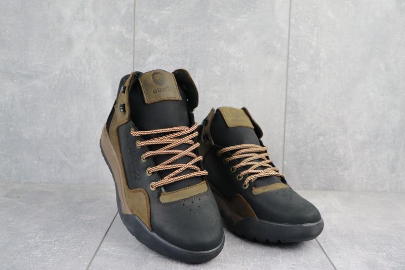 Акция🔥 мужские кожаные зимние ботинки.