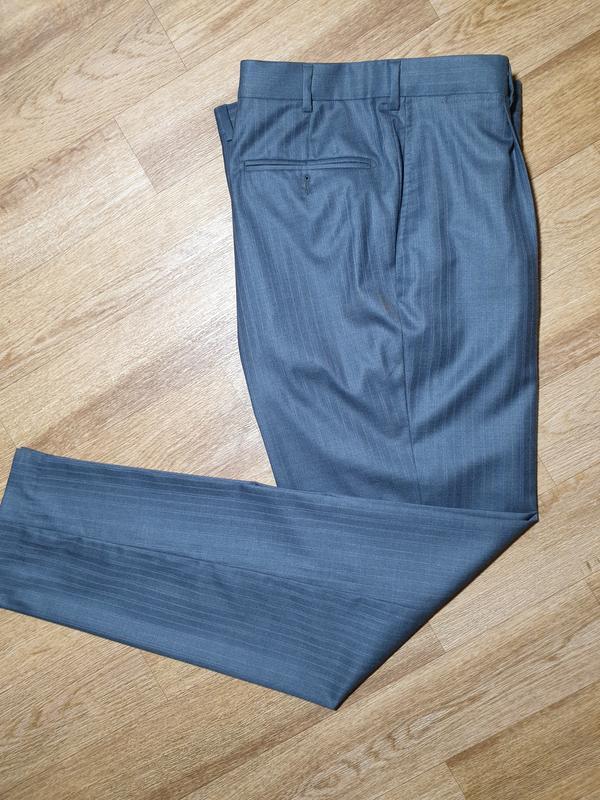 Шерстяные брюки ermenegildo zegna