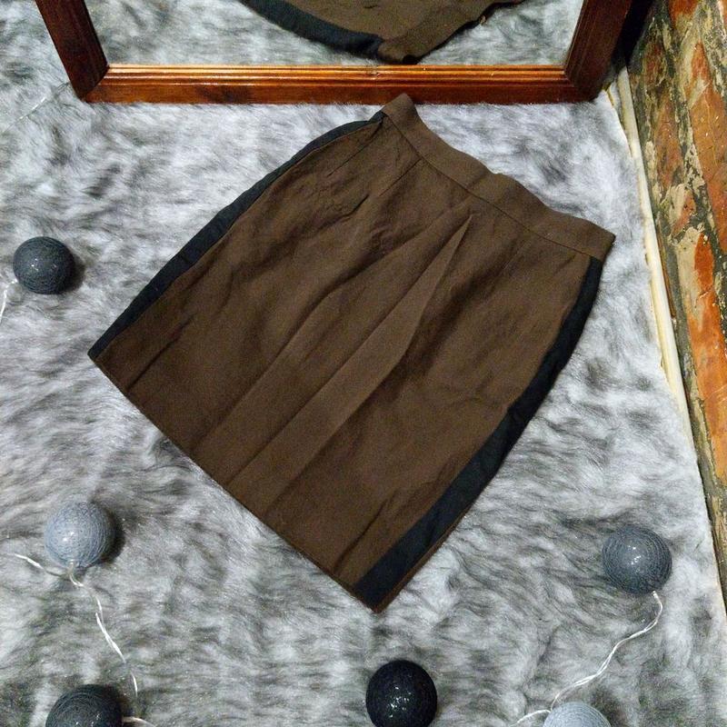 Юбка карандаш из шерсти