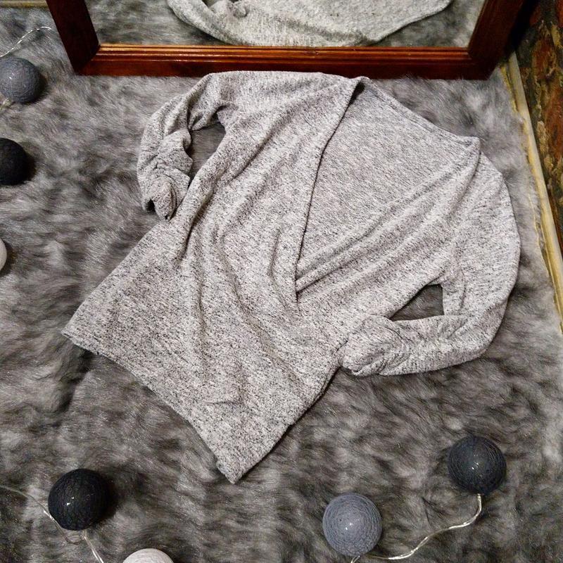 Джемпер кофточка с драпировкой на запах dorothy perkins
