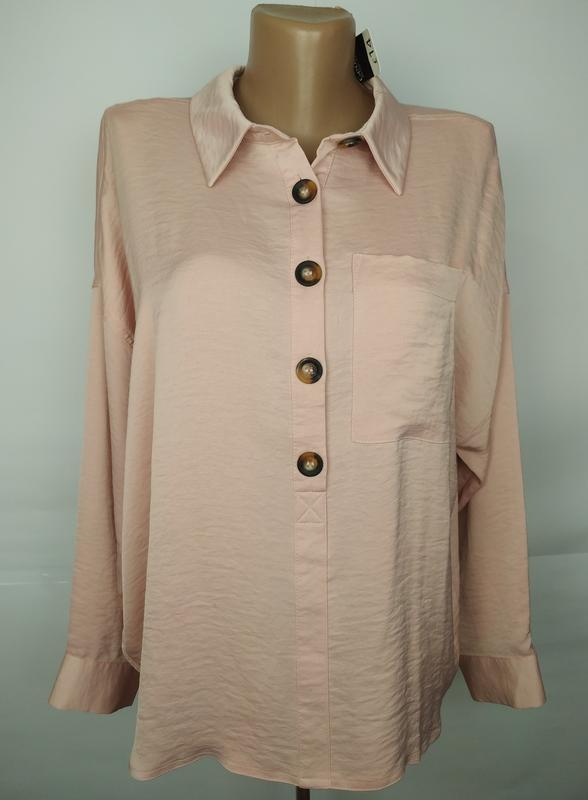 Блуза новая кремовая модная george uk 14/42/l