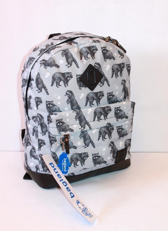 Рюкзак, ранец, городской рюкзак, спортивный рюкзак, еноты