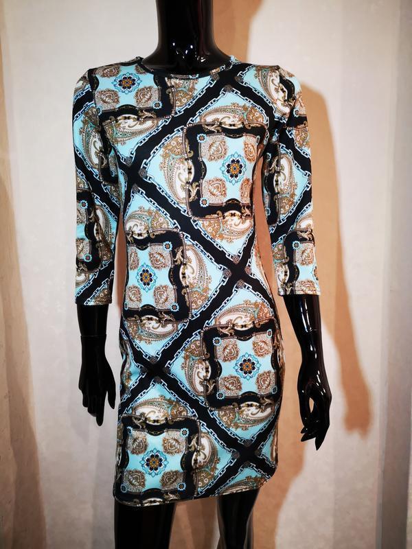 Красивое платье по фигуре uk 8 eur 34-36 наш 42 s