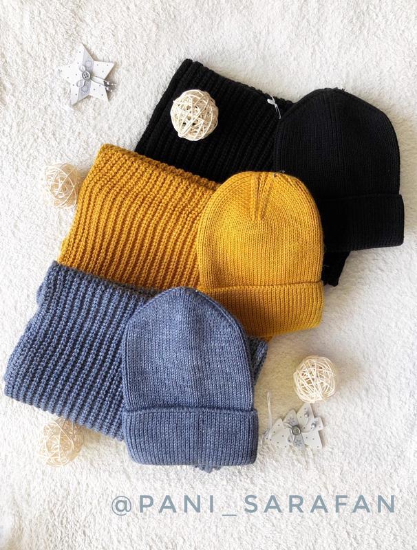Комплект (шапка і хомут)
