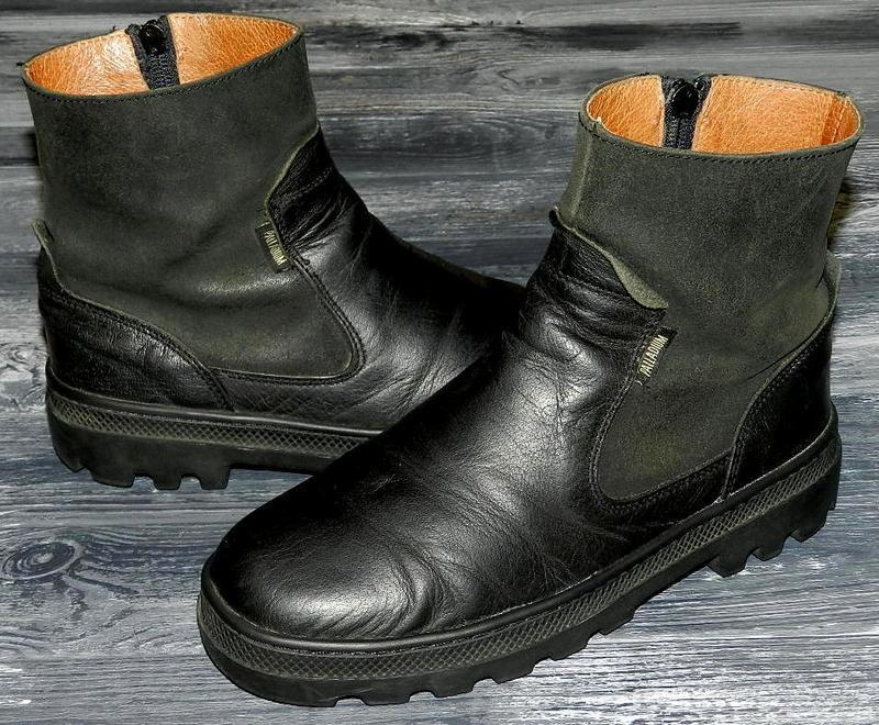 Palladium ! оригинальные, кожаные, невероятно крутые ботинки