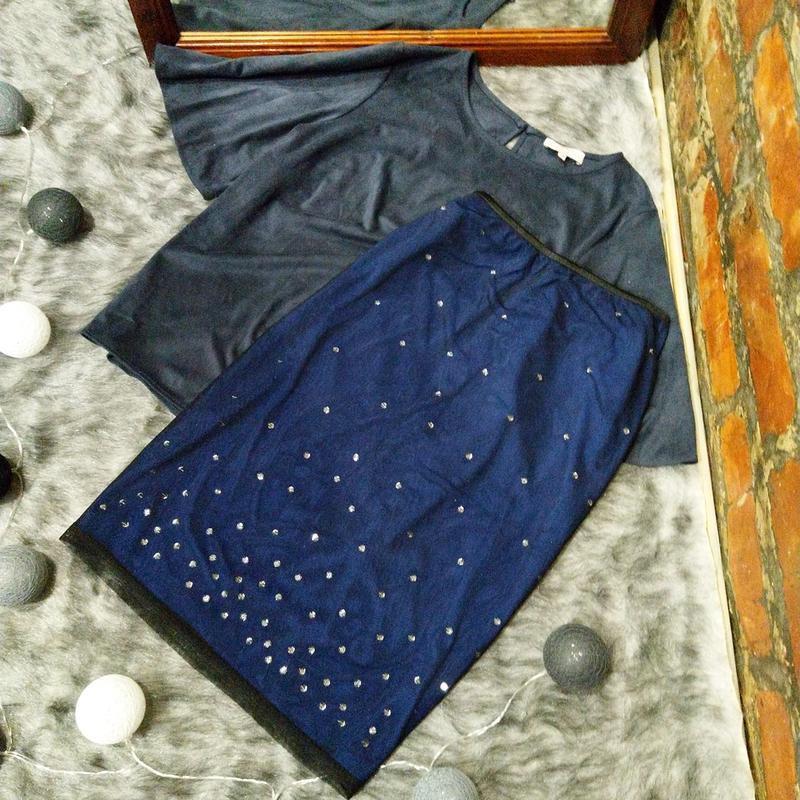 Нарядная юбка карандаш topshop