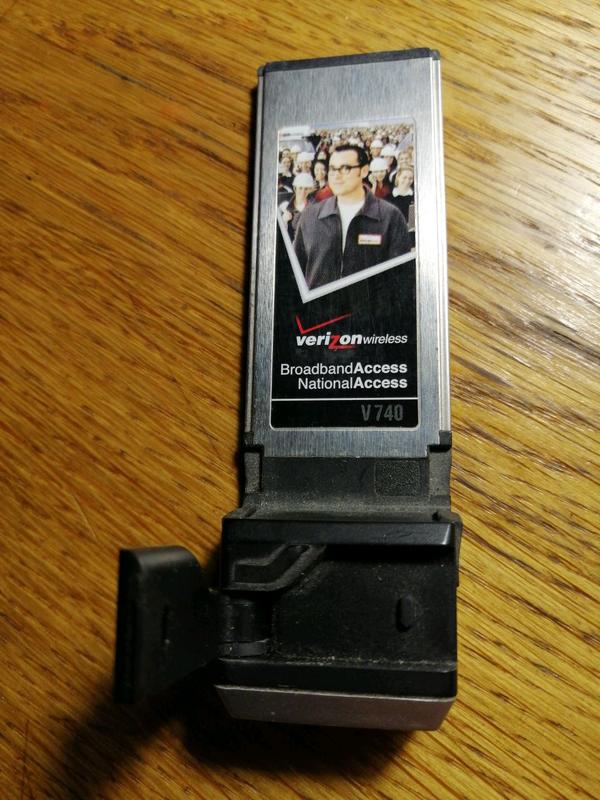 3g модем CDMA Verizon v740