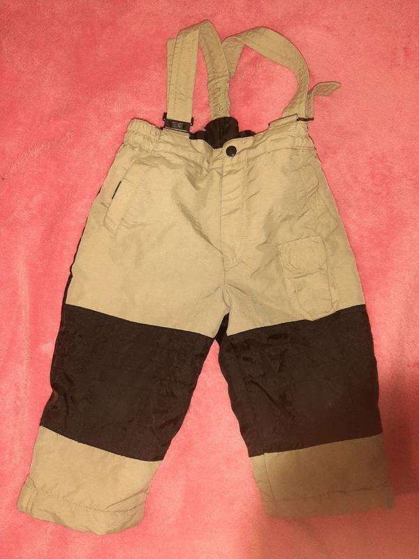 Детский зимний комбинезон, штаны