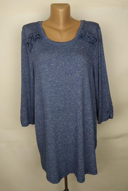 Платье туника стильное трикотажное большого размера m&co uk 18...