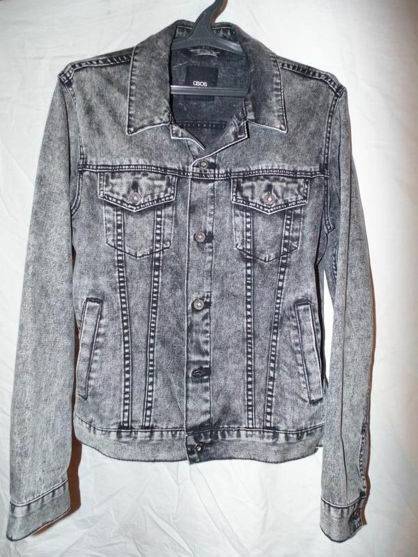 Куртка джинсовая asos мужская новая абсолютно размер м