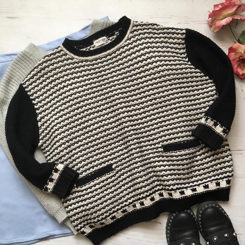 Тёплый свитер /джемпер(xl/2xl)