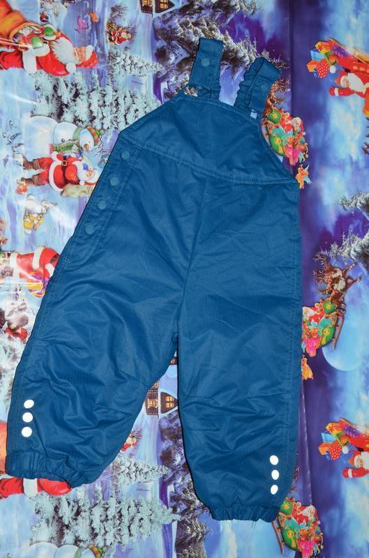 Полукомбинезон, термо штаны 74р. 12-18мес