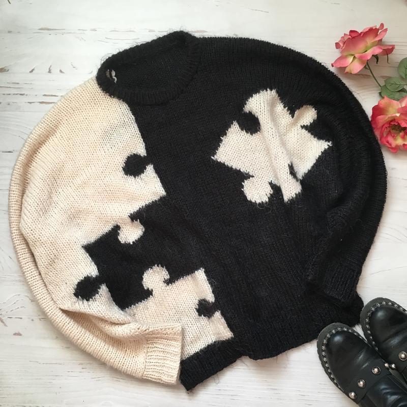 Очень тёплый свитер(5xl/6xl/7xl)