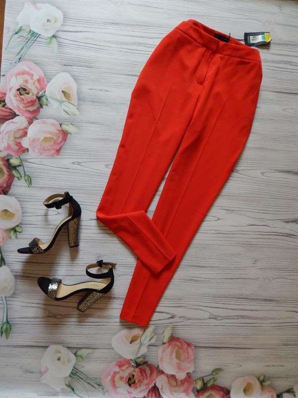 🌿элегантные женские брюки в насыщенном цвете от marks&spencer....