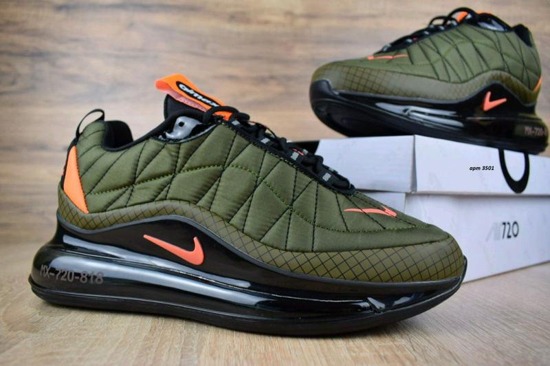 Мужские кроссовки Nike Air MAX 720-98 зеленые .Артикул 3501.