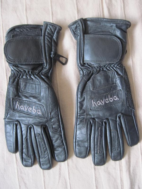 Haveba (7) кожаные мотоперчатки женские