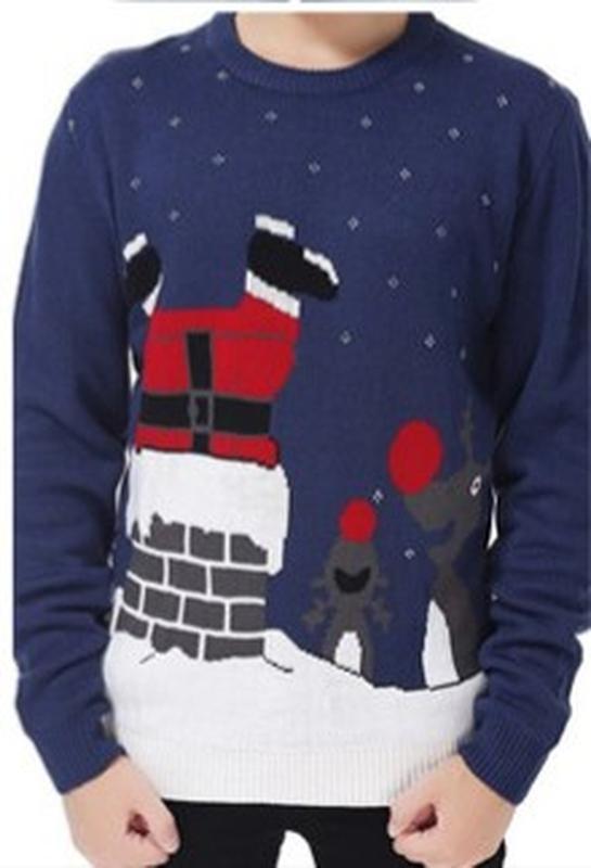 Новогодний музыкальный свитер