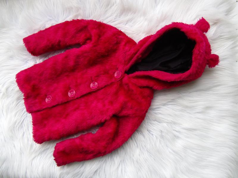 Стильная теплая кофта реглан бомбер шуба куртка с капюшоном ge...