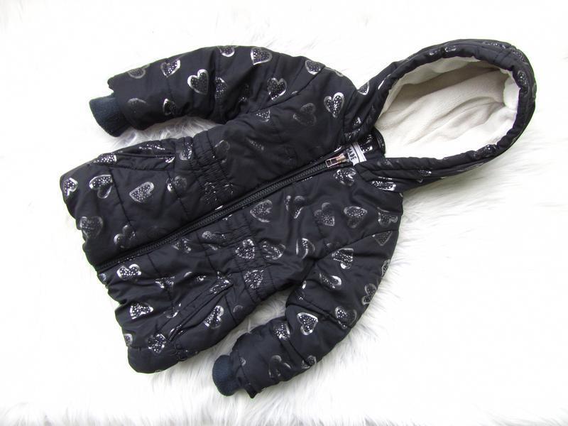 Стильная демисезонная куртка парка с капюшоном marks & spencer