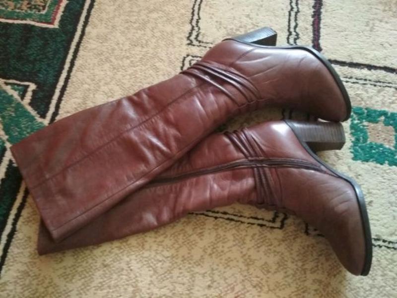 Сапоги/ ботинки, кожа цегейка, еврозима р 35-36 - Фото 3
