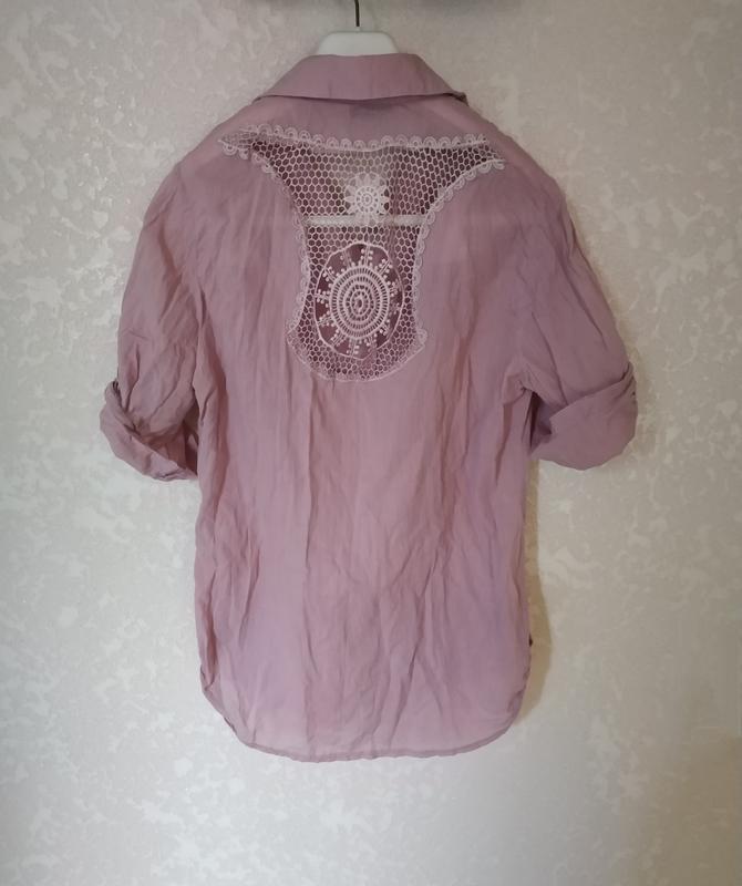 Блуза, рубашка, футболка кружевная