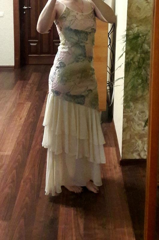 Шикарное нарядное платье сарафан