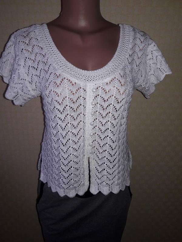 Вязаная блуза, футболка