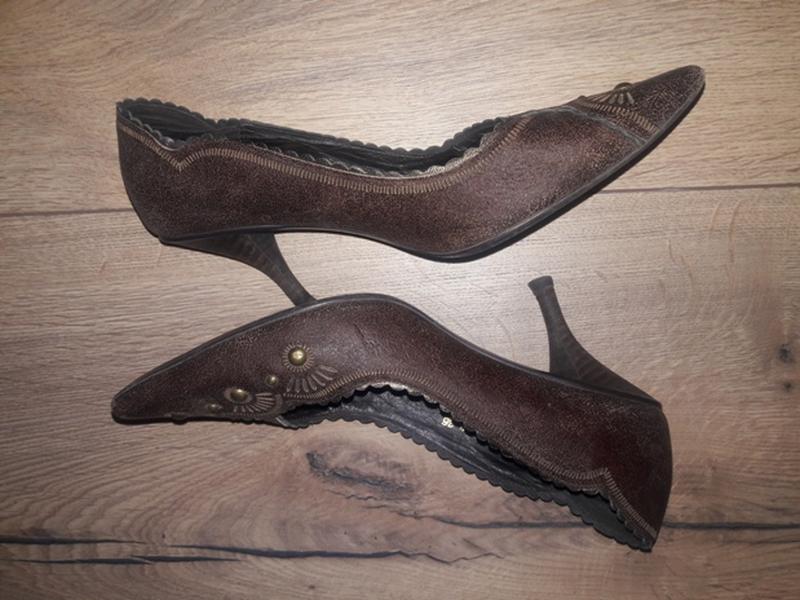 Кожаные туфли luciano carvari  (оригинал)