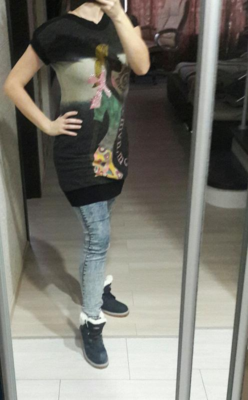 Шикарная туника-платье