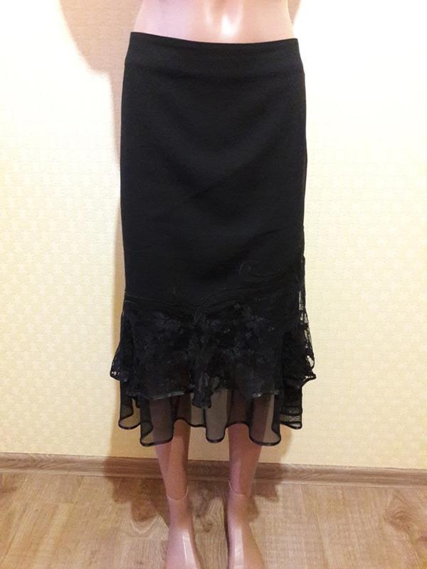Красивая строгая юбка