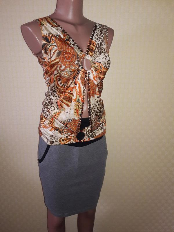 Красивая майка, блуза с открытой спиной турция