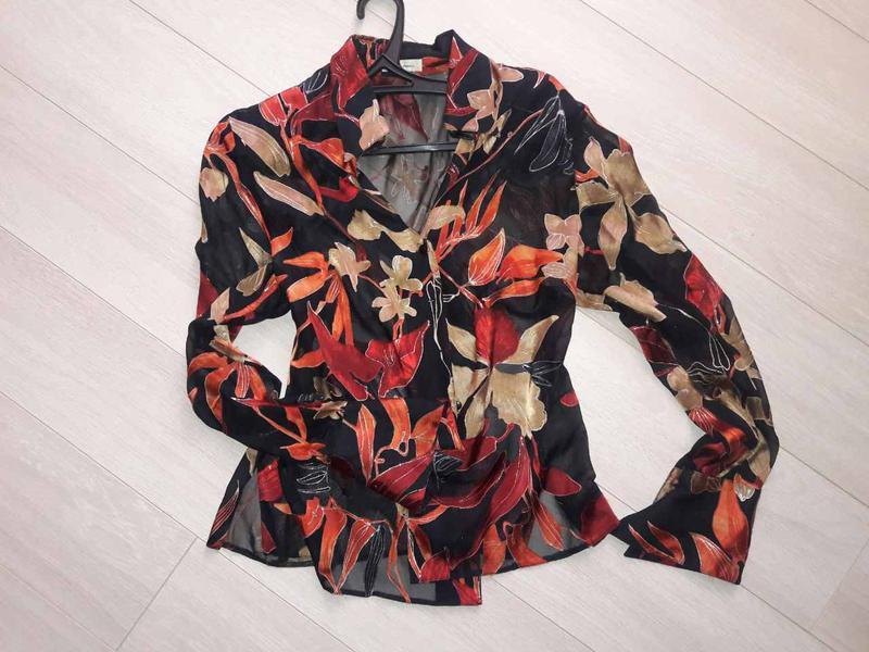 Яркая  блуза - рубашка - weimann