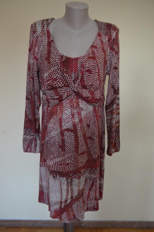 Шикарное фирменное платье трикотаж длинный рукав от melvin