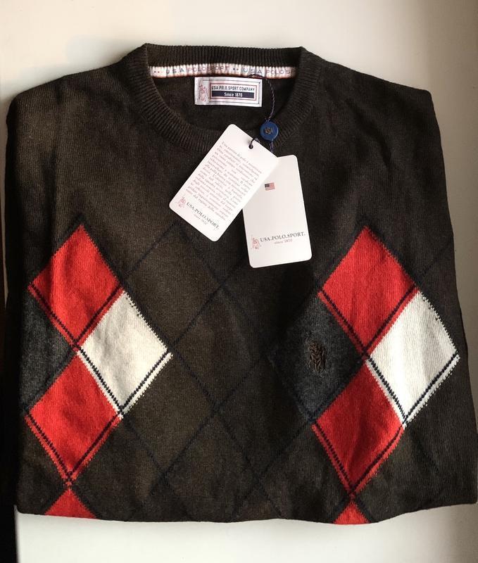 Большой выбор одежды! свитер usa polo sport company