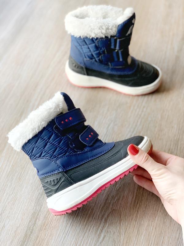 Зимові дитячі чобітки/черевички/сапожки lupilu