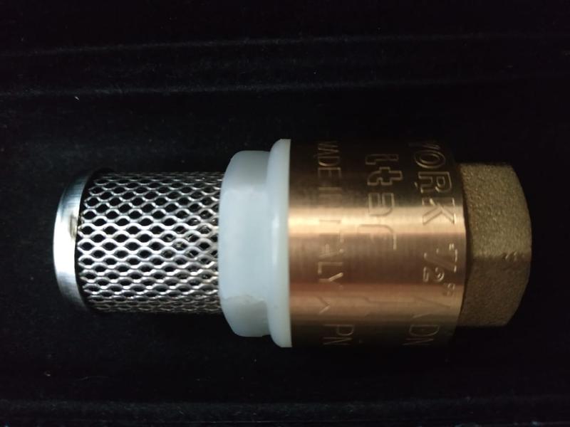 """Обратный клапан Bonomi с фильтром 1/2"""" PN10"""