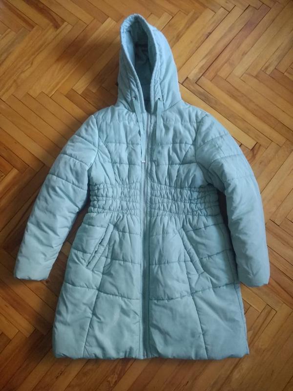 Очень теплая куртка приятного мятного цвета