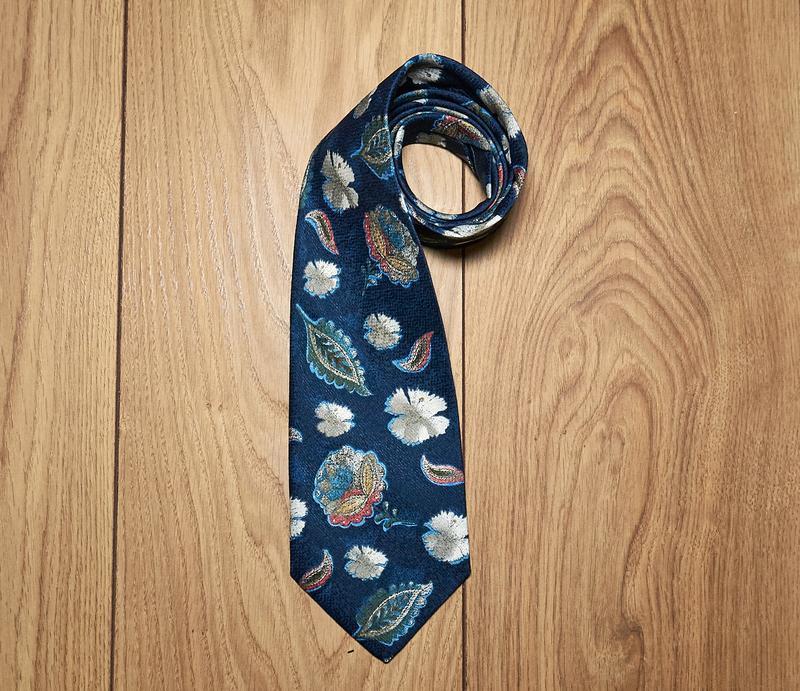 Мужской стильный галстук. винтаж. marco giordani.
