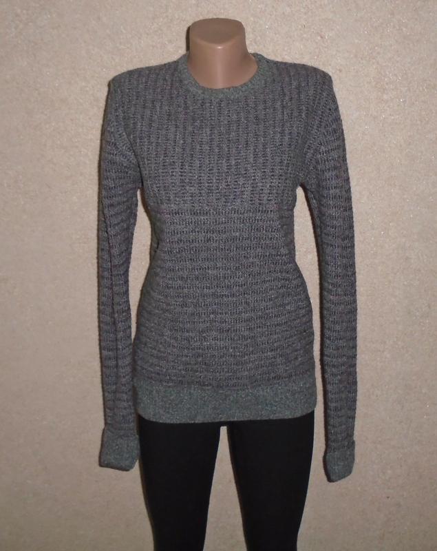 100% шерстяной свитер/джемпер/кофта/шерстяний светр