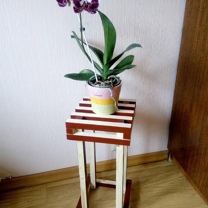 Интерьерная подставка для цветов - Фото 2