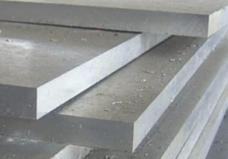 Лист алюминий АК2 плита 28х400х500мм