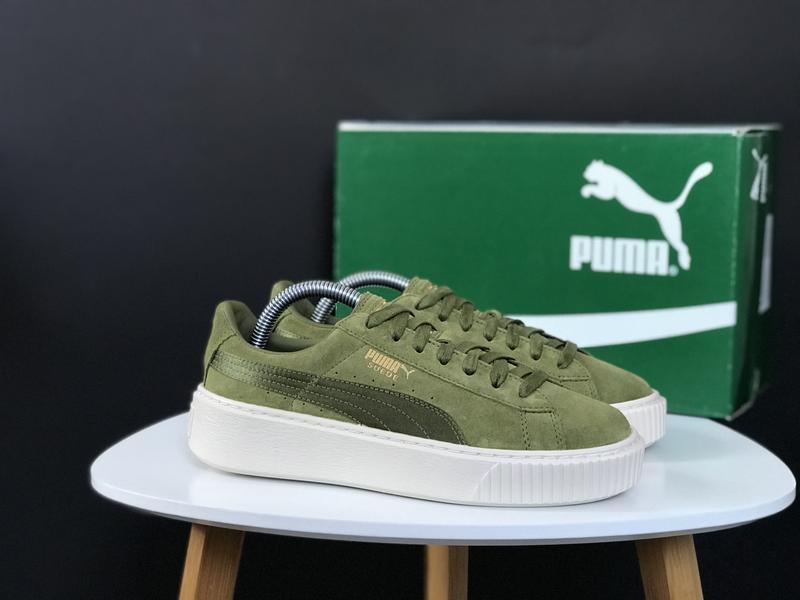 Кроссовки puma suede platform