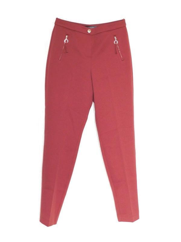 Фактурные брюки зауженные штаны брюки дудочки с стрелками от a...