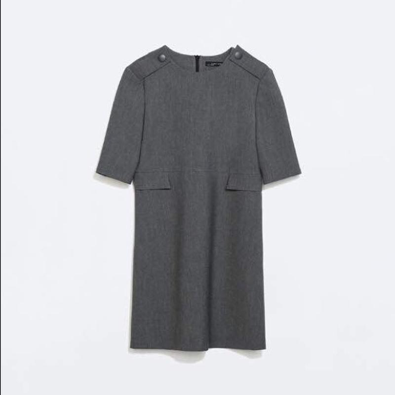Платье с карманами от zara